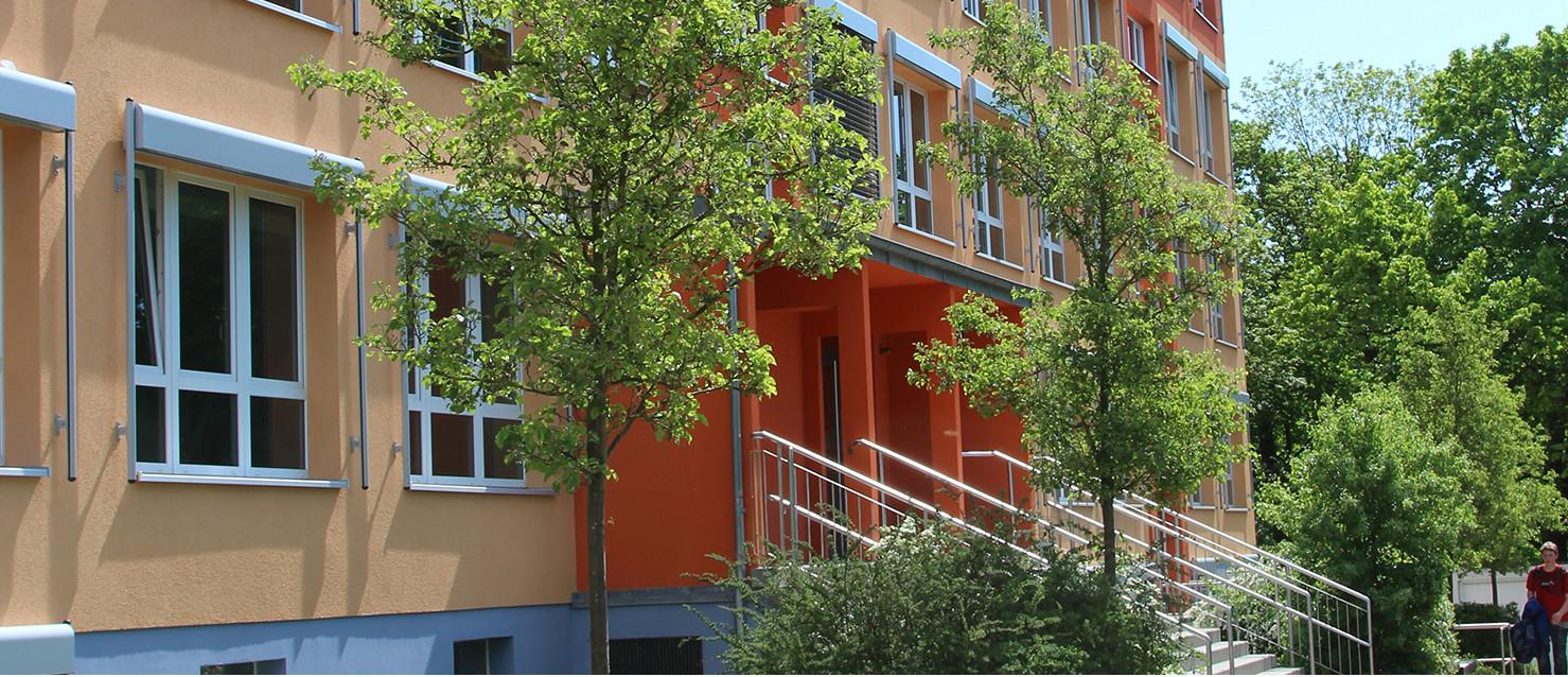 Eingang zur Grundschule