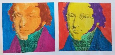 """POP-ART """"Ludwig Bechstein""""Gewinnerbild von Antonia Driesel"""